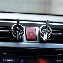 Creative Character Cool Propeller Design Air Force 2 Car Outlet Vent Clip Air Freshener Perfume Fragrance Scent Aromatic Bouquet(China)