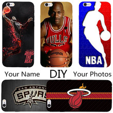 Custom Design OEM DIY Phone Case For Nokia Lumia 630 625 520 730 735 820 800 Hard Back Shell Printed NBA Basketball LOGO Player