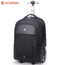 Aoking Men's ABS Trolley Luggage Travel Bags Large Capacity Trolley Bags Waterproof Carry-on Bags Business Trip Luggage(China)