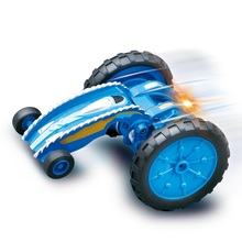 Buy Boy electric Remote Control MINI Stunt Car 2.4G Double-Sided Running 360 Degree Rotation stretch draw back Stunt RC Car for $28.00 in AliExpress store