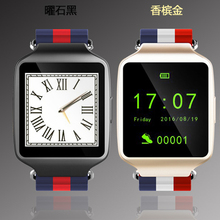 New silver gold black Smart Watch Phone Bluetooth Wearable Devices  smart band Support Apple Android