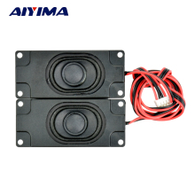 AIYIMA 2Pcs Audio Portable Speakers 3070 Box Speaker 8Ohm 5W DIY Mini TV Speakers