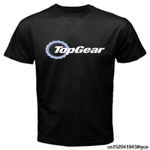 Jzecco Men Short Sleeve T Shirt New Top Gear Automobile Automotive Magazine Logo Men'S T Shirt(China)