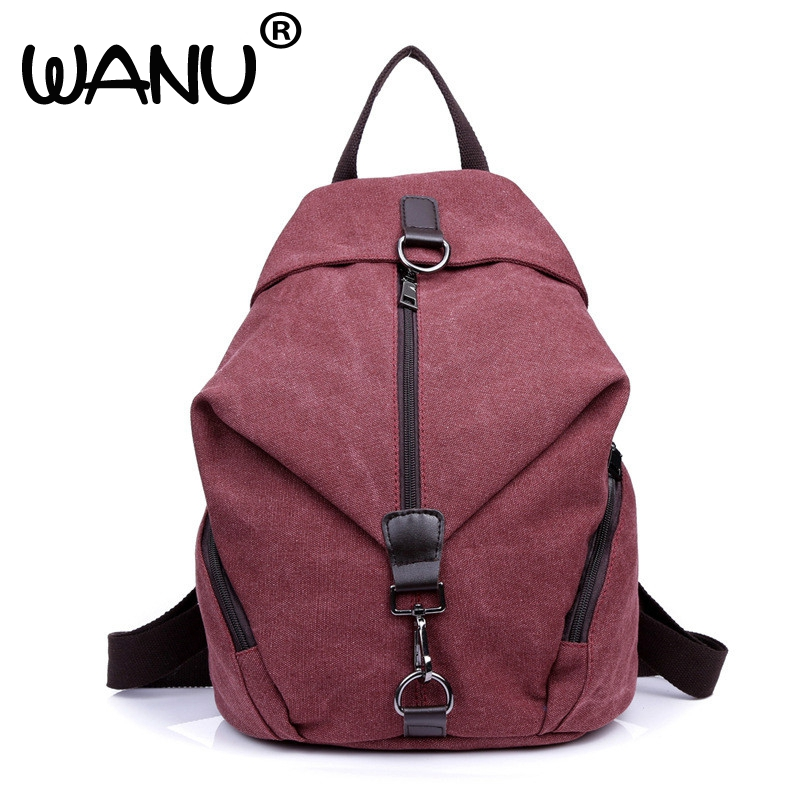 Backpack New Fashion Women Bags Messenger Canvas Big Simple Shoulder Crossbody Bags Casual Canvas Bags For Teenage<br>