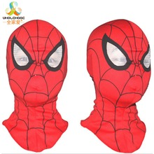 Super Quality Custom Made Hero Toby Spider-Man Cosplay Face Mask Elastic Spiderman Mask With Eyes