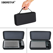 XBERSTAR Storage EVA Hard Bag Zipper Pouch Case for Bowers & Wilkins T7 Creative Sound Blaster Rora 1 2 Speaker