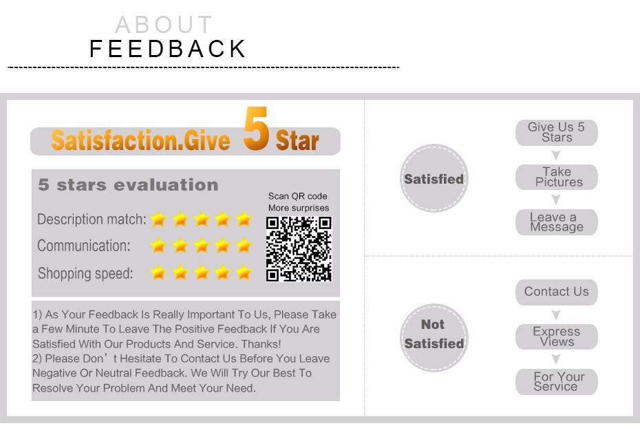 good feedback