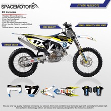 Motorcycle graphics 3M wrap sticker decal graphic kit for HUSQUARNA FE TC FC TE motorcycle bike(China)