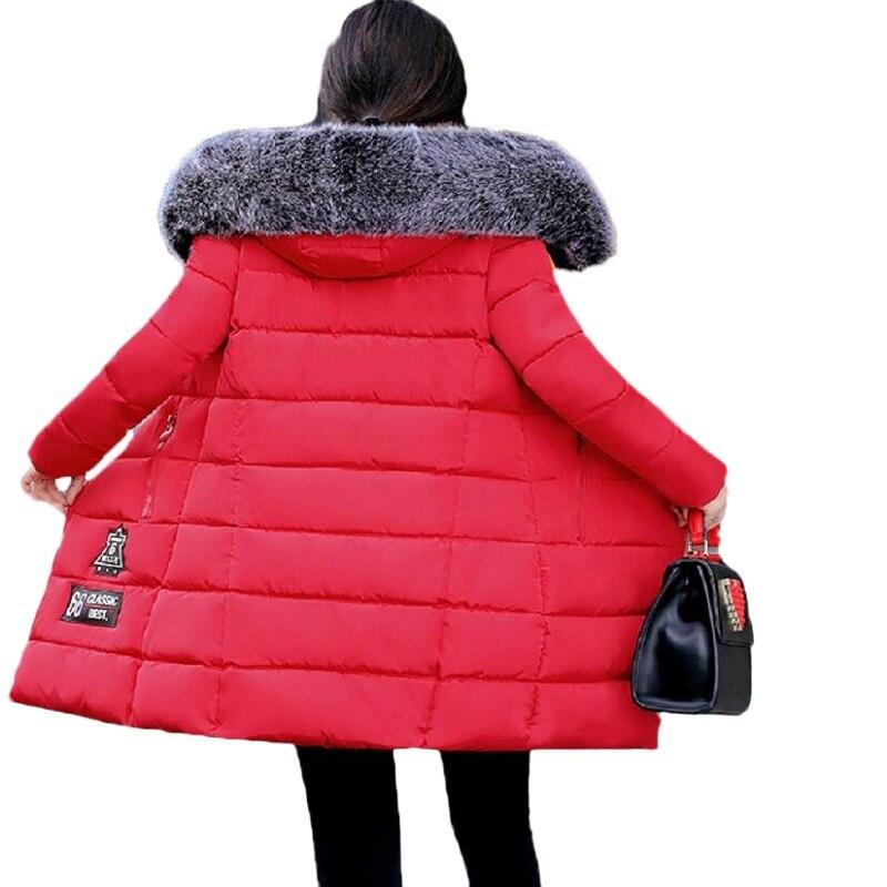 Womens winter jackets fashion 2017 parka mujer new women in the long paragraph down jacket cotton trousers jacket winter coatÎäåæäà è àêñåññóàðû<br><br>