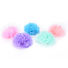 NEW 10cm to 35cm 5pcs Paper Flowers Ball Wedding Home Birthday Party Car Decoration Tissue Paper Pom Poms Diy Multi Colour