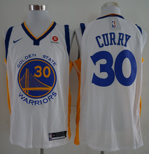 #30 Stephen Curry #35 Kevin Durant Jersey New Material Golden State 2017 Basketball Jersey Embroidery Logos