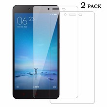 SUNDATOM Redmi Note2 Tempered Glass Screen Protector For Xiaomi Red Rice Hongmi Note 2 Explosion Proof Screen Guard