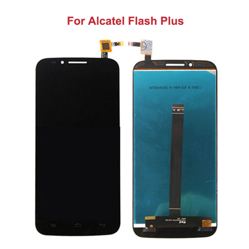 For Alcatel Flash Plus LCD Display+5.5 Touch Screen Digitizer Assembly Replacement Black New High Quality<br><br>Aliexpress
