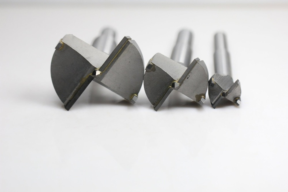 5Pcs Long Plates Woodworking Hole Saw Tungsten Carbide Drill Bits Cutting 24mm 25mm 26mm 28mm 30mm (KKQ-P24-30)<br>