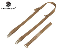 EMERSON Tactical Military P90 Special Gun Sling Airsoft Paintball Military Hunting Sling Outdoor Sports Rifle Sling Tan EM6412