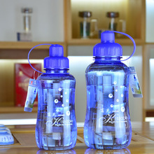Food Grade Plastic Sports Water Bottle Space Bottle Young Bike/Outdoor/Climbing/Camp Bottle 650ml/800ml/1000ml/1500ml/2000ml(China)