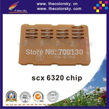 (CZ-S6320) toner cartridge reset chip for SAMSUNG SCX 6120 6220 6320 6322DN 6122 6322 BK (4k/8k pages) free DHL