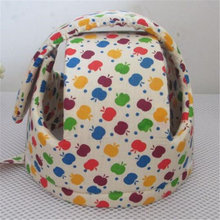 New Fashion cartoon pattern Anti-collision Protective Hat Soft Comfortable Head Security&Protection Adjustable Baby Helmet T595
