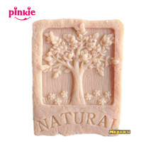 Supernova sale new  tree Soap mold silicone ,NATURAL phytoncid Decorating Clay wholesale Z159