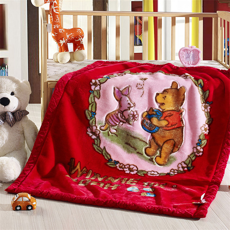 Multicolor optional Watermelon/Rose Red/Pink cartoon blanket for bed Super warm soft solid blanket Christmas Raschel Blankets<br><br>Aliexpress