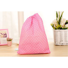 2 pc Cute  Thick Non-Woven Travel Shoe Storage Bag Cloth Suit Organizer Bra Case Garment  Packing Cubes Covers