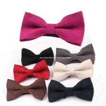 Mens Adjustable Suede Leather Bow Tie Pre Tied Neck Bowtie Bow Tie Men Fashion Accessories Free Shipping 50 pcs
