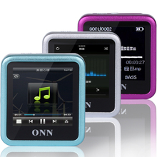 onn Q6 sports Small clip with 4GB mp3 mp4 player and the recording player
