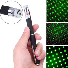 High Power Burning Laser Pointer 1mw 10m Powerful Green Laser Pointer Pop Ballon Astronomy Lazer Pointers Pens For Office PPT(China)