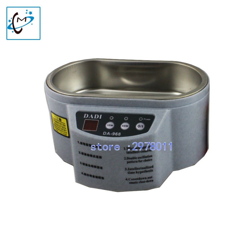 35/60w printhead cleaning machine used for Xaar126/128 head Polaris 512/256 head SPT 510/1020 printhead  ultrasonic cleaner <br>
