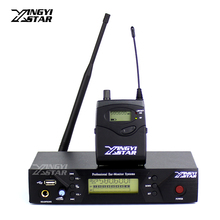 Professional Monitoring UHF Wireless In Ear Headphone Stage Monitor System USB Transmitter With Receiver Video Recording Studio(China)