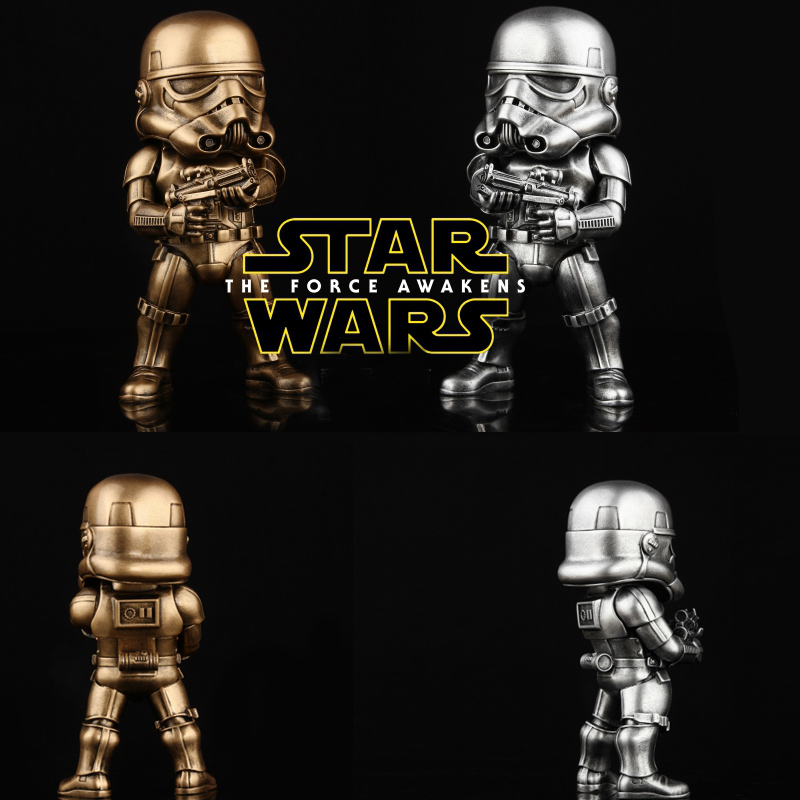 High Quality Star War 7 Stormtrooper Statue With Finished Paintin Hand model toys birthday holiday gifts 21cm Height<br>