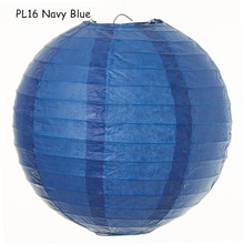 12inch=30cm 5pcs/lot Navy Blue Japanese Round Paper Lampion Lantern Hanging Marriage Decorations Outdoor/Indoor Wedding Party