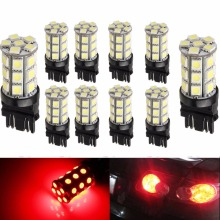 Car Led 3157 3047 3057 3155 3457 4057 Base 27 SMD 5050 LED Replacement for Car Incandescence Bulb Led Lamps For Cars 10 pieces