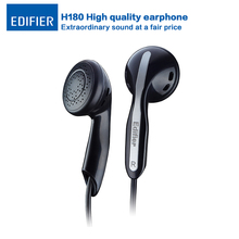 Edifier H180 In-ear Earphones Hi-Fi Stereo Headset Classic Earbud Style Music Earphone for iPhone Samsung Xiaomi HTC iPad Tablet(China)