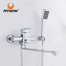 MYNAH M2204 Russia free shipping Shower system Tropical Shower  Shower rack  with mixer