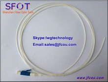 OM2 Fiber Optical Pigtail 0.9mm PVC cable Single Mode Simplex 1.5M LC connector For GPON EPON .