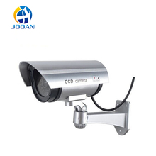 JOOAN Fake Camera Dummy Emulational Cctv Camera Bullet Waterproof Outdoor Use Security With Flash LED Fake Surveillance Camera