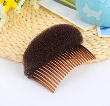 1pc free shipping 2016 New Salon Ladies Hair Styling Comb Volume Bouffant Beehive Interposing Shaper For Women CL-S072G