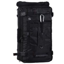 Brand Designer Multifunctional Backpack Big Capacity Military Travel Men's Travel Bags Casual Backpacks Women Backpacking Bags(China)
