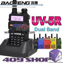 UV5R DUAL BAND 4W HAM RADIO TWO WAY RADIO AND EARPIECE (BLACK / Camouflage / BLUE / RED / YELLOW)