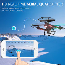 Mini Drone RC Quadcopter Aircraft Premium Helicopter Altitude Hold FPV 2.0MP Photo LED Lighting AG-01 Drone Helicopter Aircraft(China)