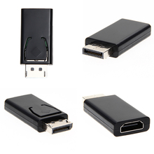 Display Port to HDMI Adapter DP Male To HDMI Female Converter Adaptor Video Audio Connector for HDTV FE