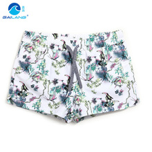 Women board shorts swimming trunks female swimsuits loose sexy short lined quick dry white running shorts joggers bodybuilding