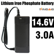 KingWei 1 Pcs Freeshipping Fast Li ion Lithium Battery Pack AC 14.6V 3A 5.5mm Charger US EU UK Plug For Powered Unicycle(China)