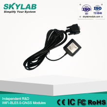 SKYLAB SKM55 GPS engine gps module with antenna USB gps receiver(China)