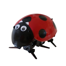 educational toy remote control ladybug Freddie bionic structure design RC creative novel electric pet insect KIT ready to run(China)