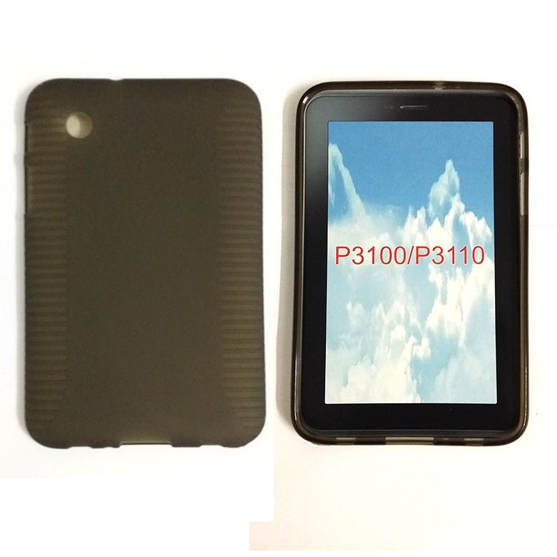 Candy Silicone TPU Gel Soft Case For Samsung Galaxy Tab 2 7.0 7 P3100 P3110 Tablet Rubber Material Shockproof Back Cover S3030D<br><br>Aliexpress