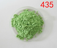 sell pearl pigment,color mica powder,pearl effect pigment,item:435,color:apple green,1 lot=20gram free shipping