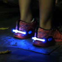 2017 Brand New 1PC Outdoors LED Shoe Decorations Shoe Clip Warning Light Accessories Safety Light Running