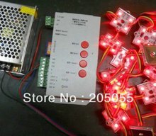 60pcs Addressable 4led 5050SMD RGB led pixel module waterproof LPD6803 12V 3*20pcs/string+T-1000S sd card controller+Transformer(China)
